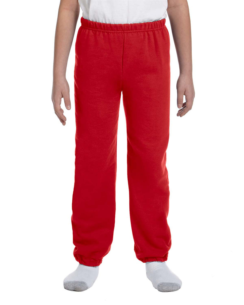 Gildan-G182B-Youth Heavy Blend™ 8 oz., 50/50 Sweatpants - ASH - S