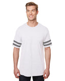 Gildan-G500VT-Heavy Cotton™ Adult Victory T-Shirt - WHITE/ GRP HTHR - XS