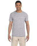 Gildan-G640-Adult Softstyle® 4.5 oz. T-Shirt - DARK HEATHER - XS