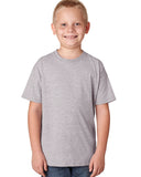 Hanes-H420Y-Youth 4.5 oz. X-Temp® Performance T-Shirt - WHITE - S