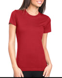 Next Level-N3900-Ladies' Boyfriend T-Shirt - RED - XS