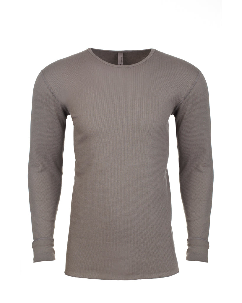 Next Level-N8201-Adult Long-Sleeve Thermal - WHITE - XS