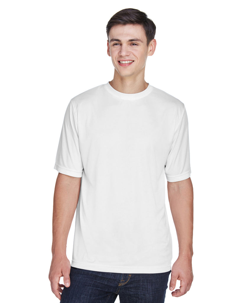 Team 365-TT11-Men's Zone Performance T-Shirt - WHITE - XS