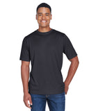 Team 365-TT11H-Men's Sonic Heather Performance T-Shirt - SP FOREST HTHR - XS