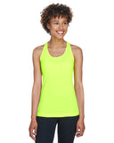 Team 365-TT11WRC-Ladies' Zone Performance Racerback Tank - SAFETY YELLOW - XS