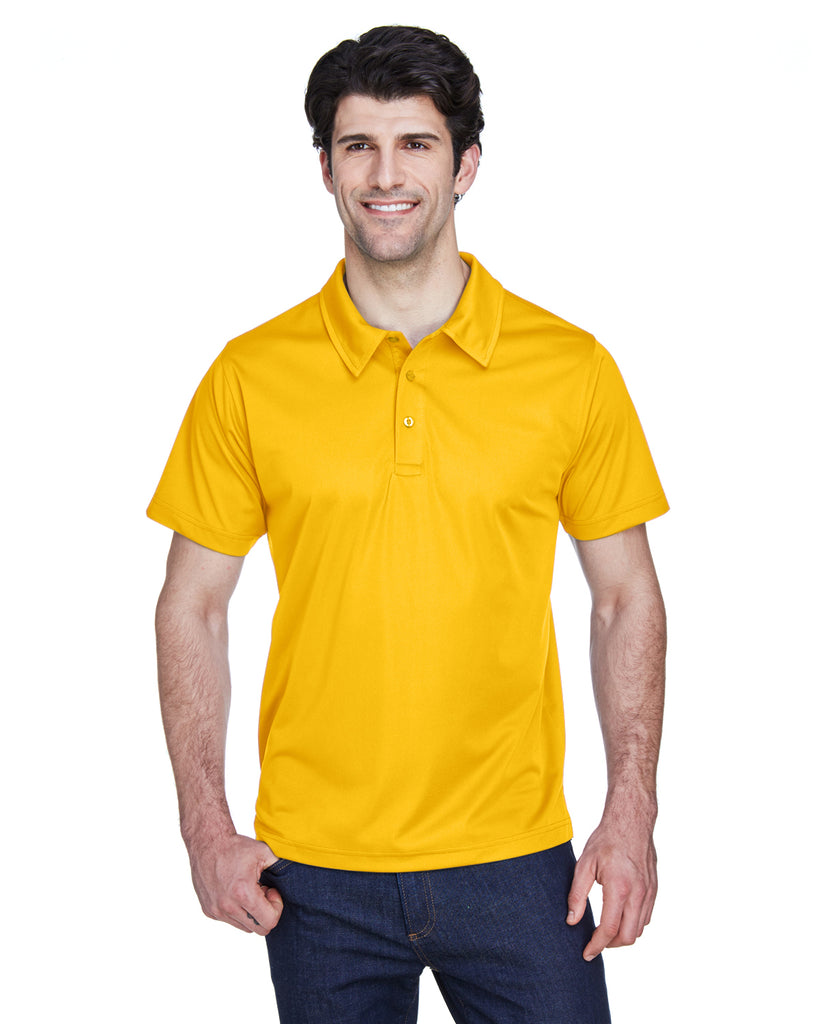 Team 365-TT21-Men's Command Snag Protection Polo - SAFETY YELLOW - XS