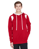 Team 365-TT30-Men's Elite Performance Hoodie - SP SCARLET RED - XS