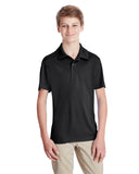 Team 365-TT51Y-Youth Zone Performance Polo - BLACK - S