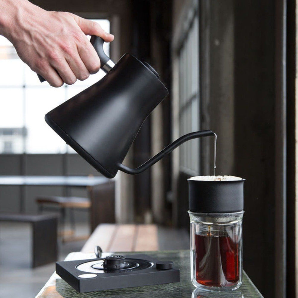 Load image into Gallery viewer, Fellow Stagg EKG Electric Kettle Black Brewing Coffee