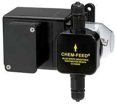 BLUE-WHITE CHEM FEED METERING PUMP - poolandspa.ph