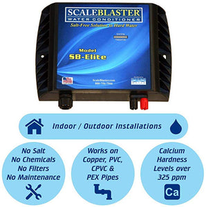 ScaleBlaster SB-Elite Water Conditioning System -SCALEBLASTER RESIDENTIAL DESCALER(UPTO 35 GPG ) - poolandspa.ph
