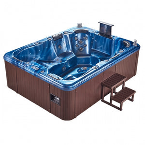 Aquascape Alaska 7 Seater Jacuzzi (Size:2880*2200*950mm) - poolandspa.ph