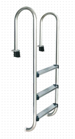 M Aquascape MU series Stainless Steel Ladder - poolandspa.ph