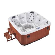 Aquascape Arizona 5 Seater Jacuzzi (Size:2880*2200*950mm) - poolandspa.ph