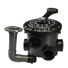 Load image into Gallery viewer, Emaux MPV Side Mount Multiport Valve (BLACK) - poolandspa.ph