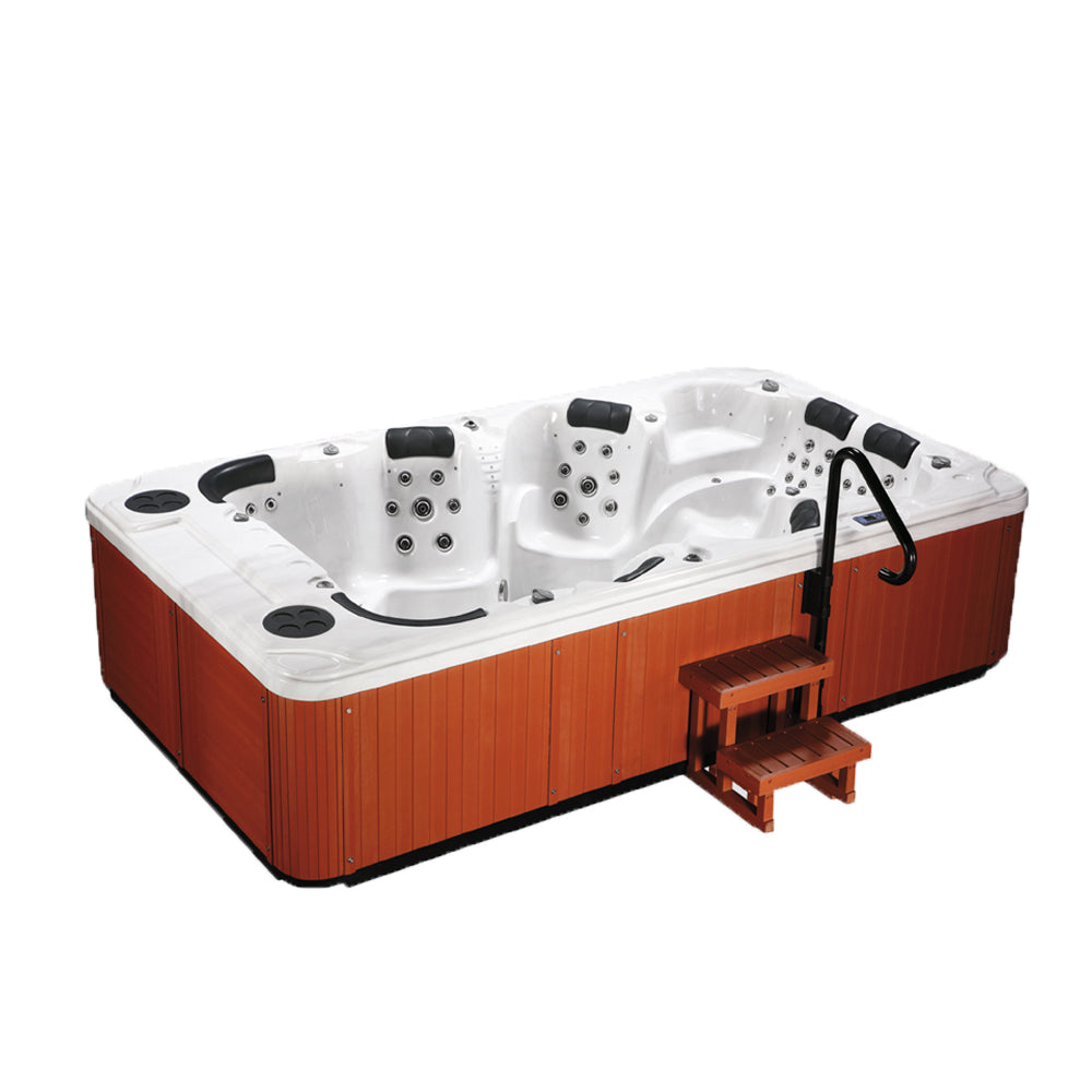 Aquascape Alabama 8 SeaterJacuzzi (Size:4000*2200*950mm) - poolandspa.ph