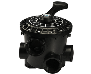 Emaux MPV Side Mount Multiport Valve (BLACK) - poolandspa.ph