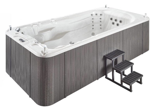 Aquascape Louisiana 3 Seater Swim Spa (Size:4560*2240*1400MM) - poolandspa.ph