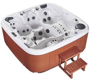 Aquascape Missouri 5 Seater Jacuzzi (Size:2250*2250*880mm) - poolandspa.ph