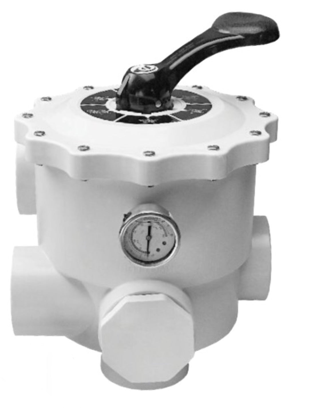 Emaux MPV Side Mount Multiport Valve (WHITE)