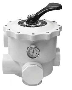 Emaux MPV Side Mount Multiport Valve (WHITE) - poolandspa.ph