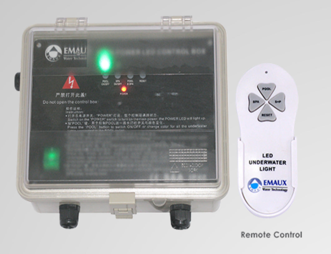 Emaux Remote Control & Control Box for Multiple Lights - poolandspa.ph