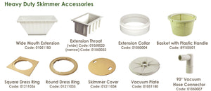 Emaux Heavy Duty Skimmer Accessories - poolandspa.ph