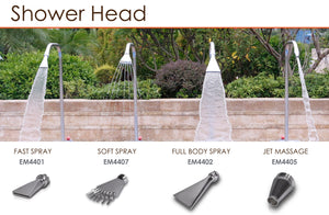 Emaux Shower Heads - poolandspa.ph