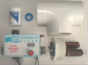 Caribbean Clear Model 150-C Ionization System - poolandspa.ph
