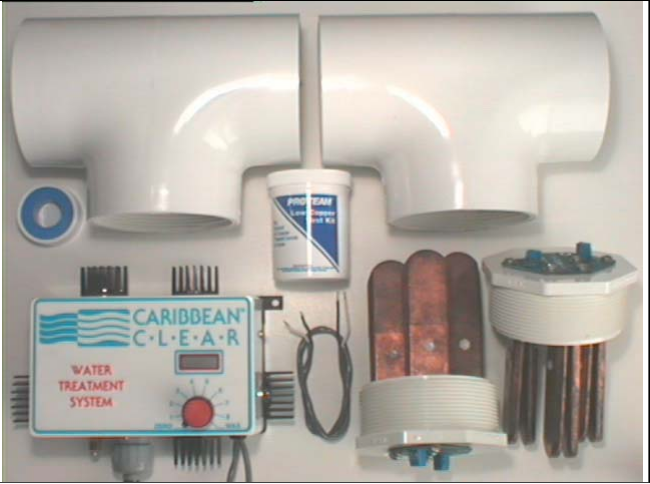 Caribbean Clear Model 350-C Ionization System - poolandspa.ph