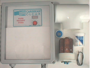 Caribbean Clear Model 1000-C Ionization System - poolandspa.ph