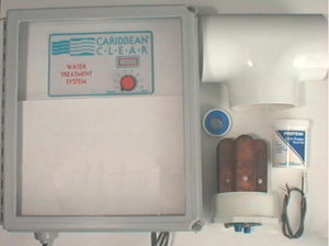 Caribbean Clear Model 1500-C Ionization System - poolandspa.ph