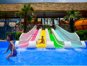Kids Rainbow Slides - poolandspa.ph