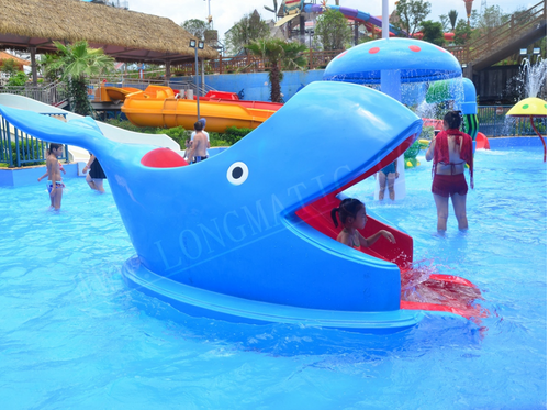 Aqua Play Shark Slide - poolandspa.ph
