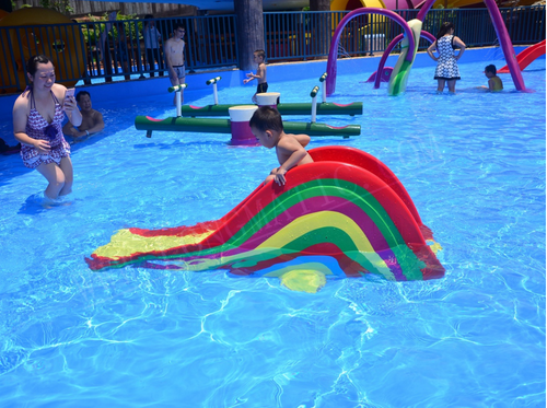 Aqua Play Rainbow Baby Slide - poolandspa.ph