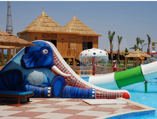 Aqua Play Elephant Slide - poolandspa.ph