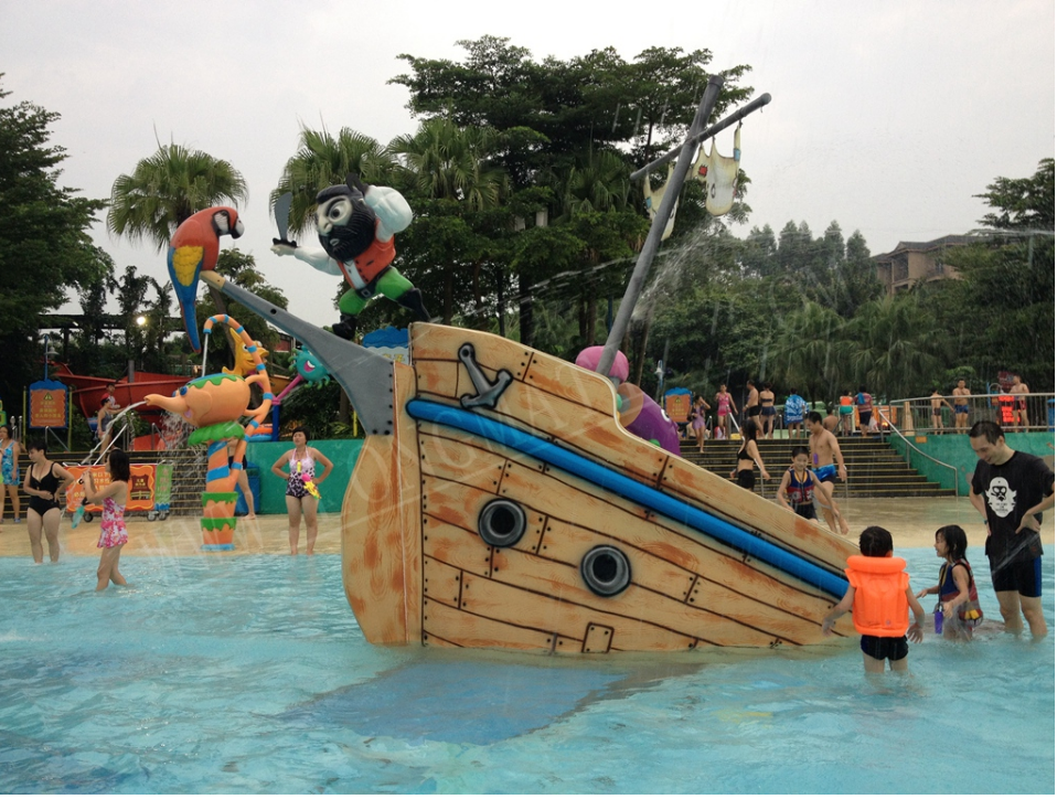 Aqua Play Pirate Ship Slide - poolandspa.ph