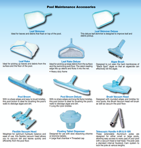WATERCO CLEANING ACCESSORIES - poolandspa.ph