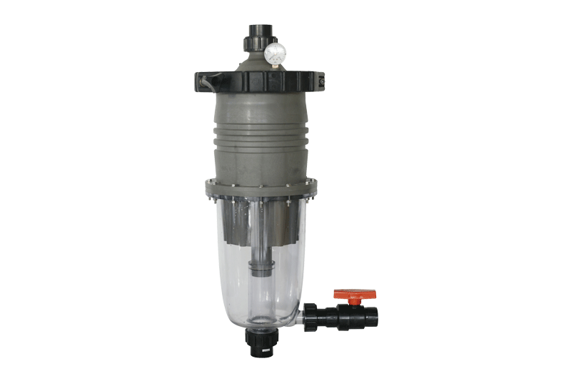 WATERCO MULTICYCLONE 12 & 16 PLUS CENTRIFUGAL FILTERS - 3.5 Bar Water saving pre-filter - c/w 25mm valve - poolandspa.ph