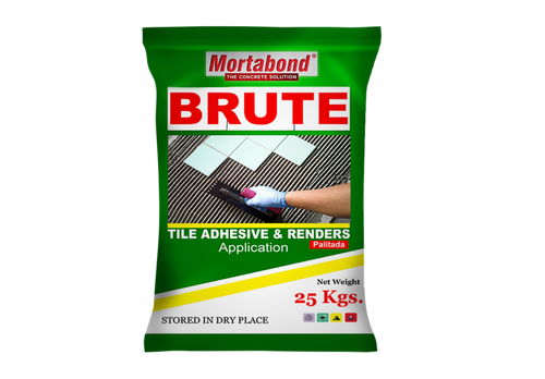 MortaBond BRUTE Tile Adhesive and Renders - poolandspa.ph