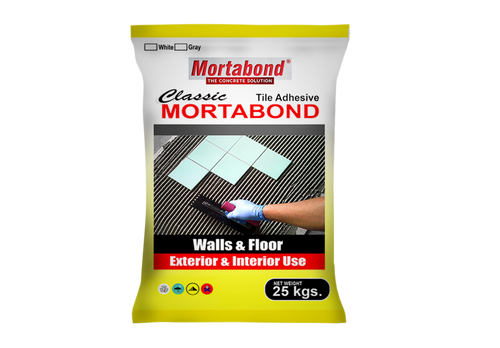 MortaBond Classic Tile Adhesive - poolandspa.ph