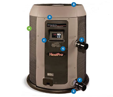 HAYWARD HEATPRO HEAT PUMPS ( Scroll Type Compressor) - poolandspa.ph