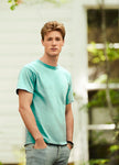 1717 Adult T-Shirt Soft Washed Garment Dyed Fabric