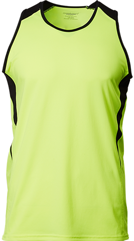 CRV 1600L Ladies Flex Running Vest Tee