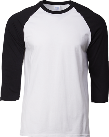 76700 Adult 3/4 Sleeve Raglan T-Shirt