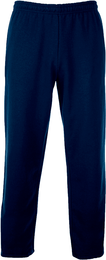 88400 Adult Open Bottom Sweatpants