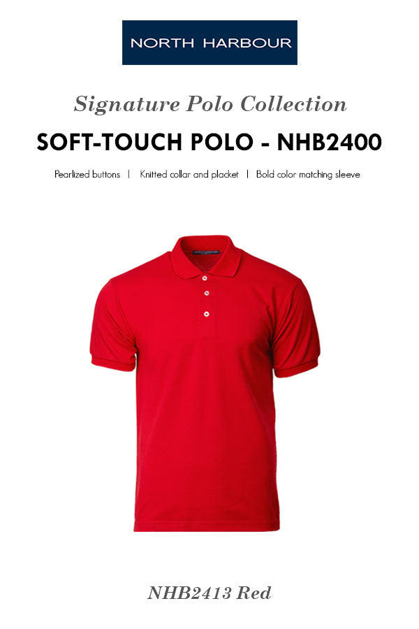 NHB 2400 Soft Touch Polo - Page 1