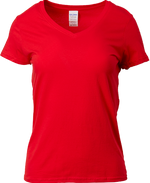 63V00L Ladies V-Neck T-Shirt