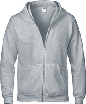 88600B Youth Full Zip Hooded Sweatshirt