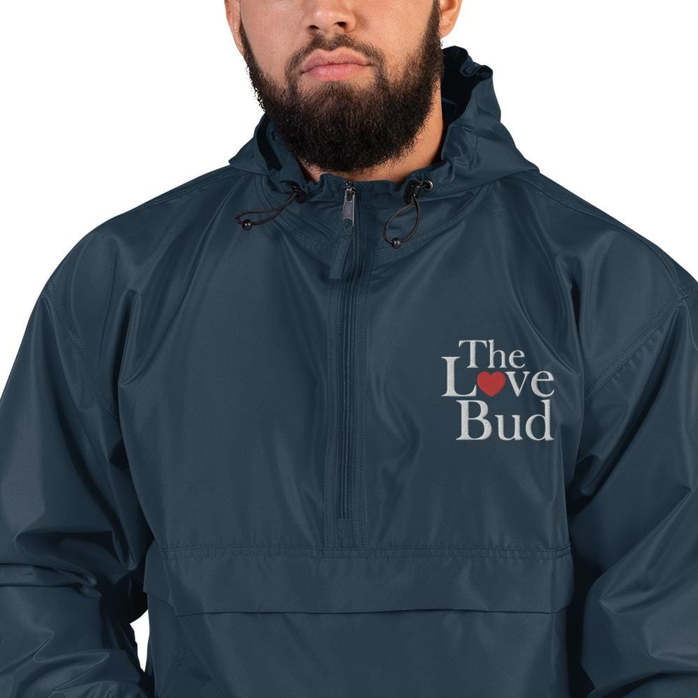 Embroidered Champion Packable Jacket - The Love Bud